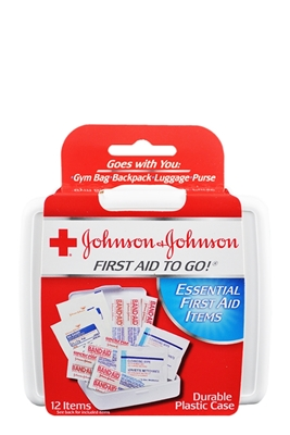 Picture of JOHNSON & JOHNSON FIRST AID TO GO!