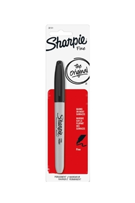 Picture of SHARPIE MARKERS BLACK FINE