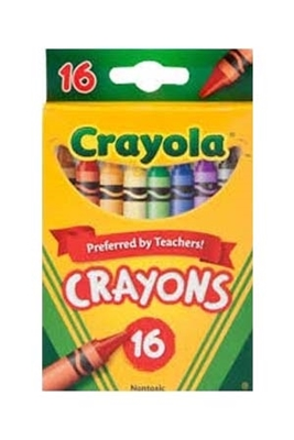 Picture of CRAYOLA CRAYONS - 16 ct.