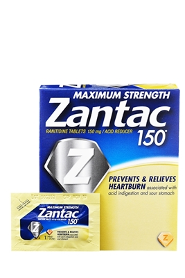 Picture of ZANTAC X STRENGTH 150MG POUCH 25 1S