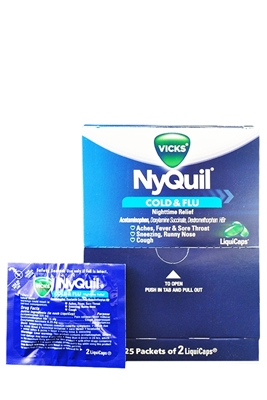 Picture of NYQUIL LIQUID POUCH 25X2'S