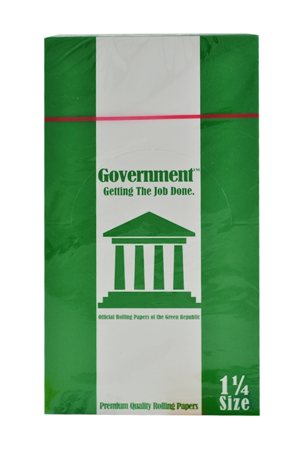 Picture of GOVERNMENT GREEN ROLLING PAPER 1 1/4 25S
