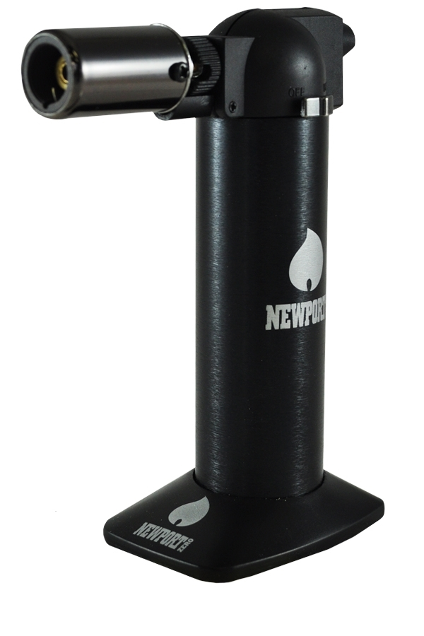 Picture of NEWPORT ZERO BLACK TORCH LIGHTER 6 INCHES