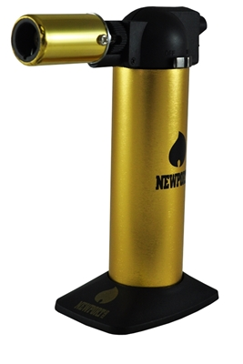 Picture of NEWPORT ZERO GOLD/BLACK TORCH LIGHTER 6 INCHES