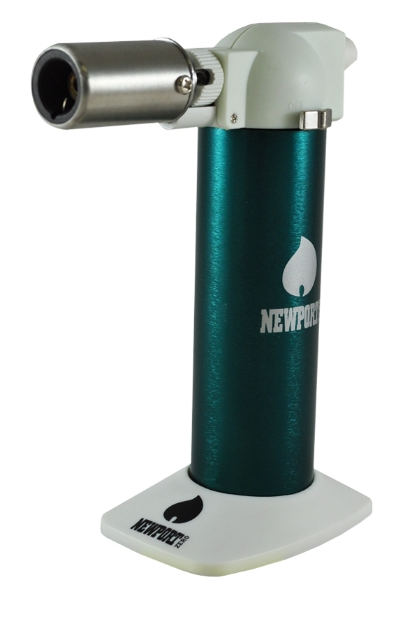 Picture of NEWPORT ZERO GREEN TORCH LIGHTER 6 INCHES