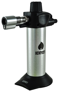 Picture of NEWPORT ZERO SILVER TORCH LIGHTER 5.5 INCHES