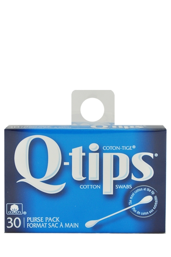 Picture of Q-TIPS 30 COTTON SWABS PURSE PACK