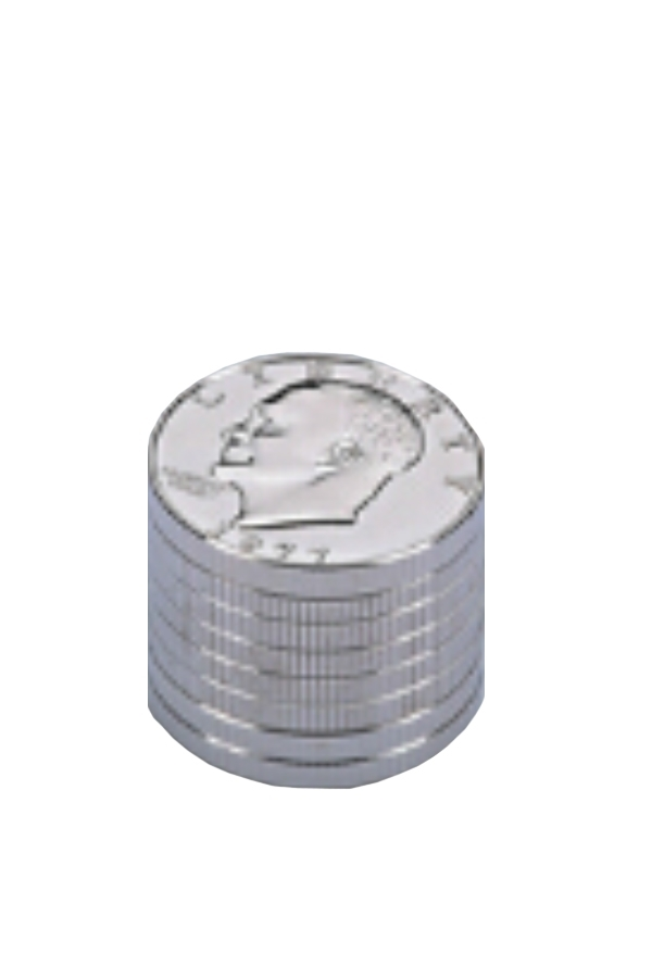 Picture of TOBACCO METAL GRINDER 3 PARTS 42MM