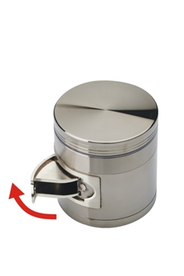 Picture of TOBACCO METAL GRINDER 4 PARTS 63MM