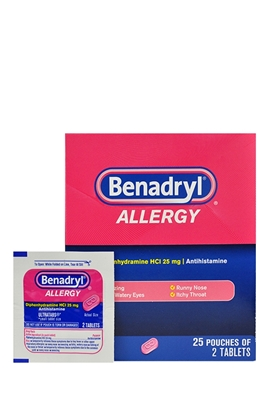 Picture of BENADRYL TABLETS 25X2S