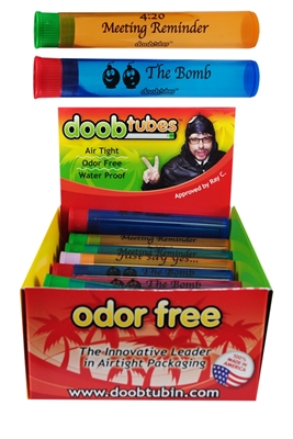 Picture of DOOB TUBES SMALL FUNNIES 25S DISPLAY