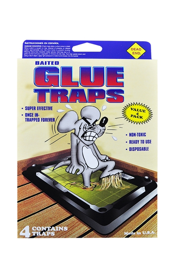 Picture of DEAD END MOUSE GLUE TRAPS (4)