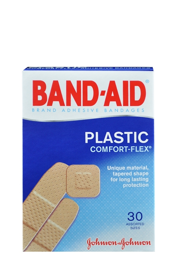 Picture of BAND-AID PLASTIC COMFORT-FLEX 30 Assorted sizes