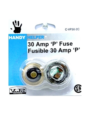 Picture of 30 AMP PLUG FUSE 2 PACK
