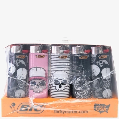 Picture of Bic Lighters Skull Series - 50 Pcs Display Case