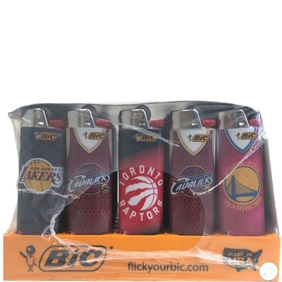 Picture of Bic Lighters NBA Series - 50 Pcs Display Case
