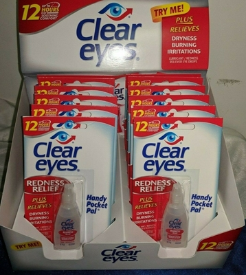 Picture of CLEAR EYES REDNESS RELIEF 6ML DISPLAY