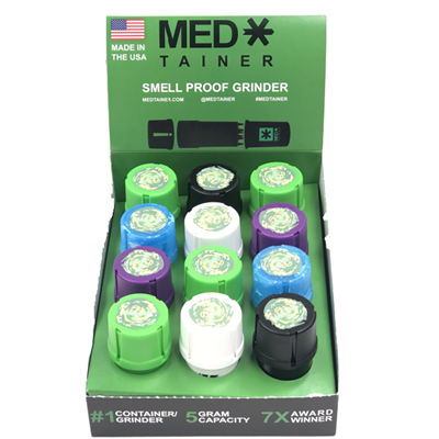 Picture of Medtainer Grinder Rick & Morty  Assorted Colors - 12 Pcs