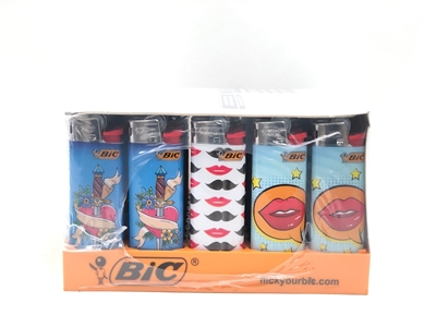 Picture of Bic MINI LOVE SERIES LIGHTERS 50's