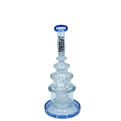 """Picture of 9.5"""" Arsenal Nesting Percolator Rig With Banger"""
