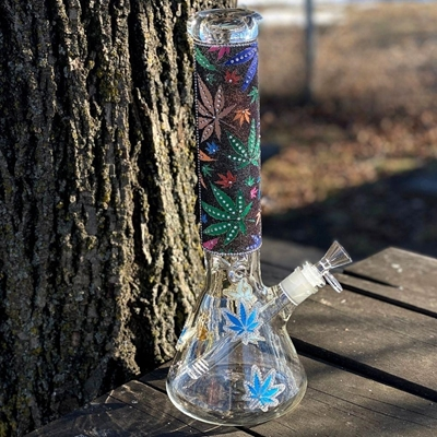 """Picture of 14"""" Bedazzled Bong"""