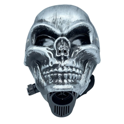 Picture of Gas Mask  Skull With Acrylic Pipe