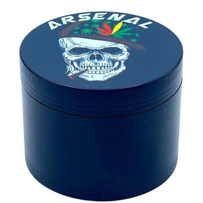 Picture of Grinder  Skull Print 55mm 4-Piece
