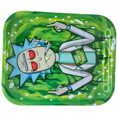 Picture of Large Metal Rolling Tray - Rick The Police