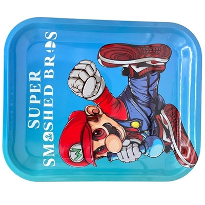 Picture of Large Metal Rolling Tray -Super Smash Bros