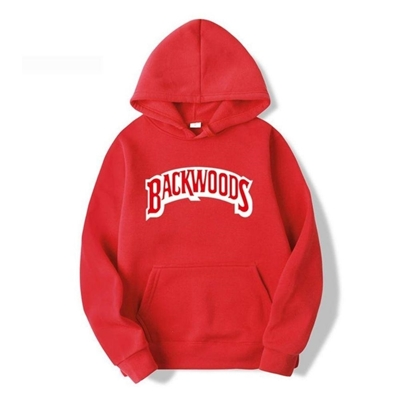 Picture of Funky Hoodie - Solid Red