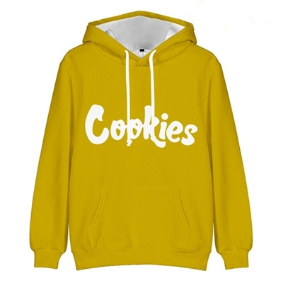 Picture of Funky Hoodie - Solid Yellow