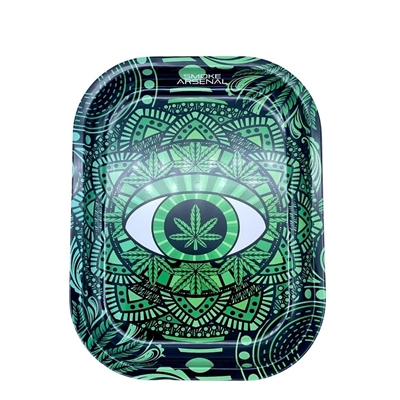 Picture of Small Metal Rolling Tray - Mandala 2
