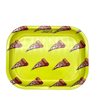 Picture of Small Metal Rolling Tray - Pizza