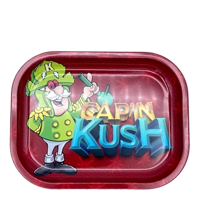 Picture of Small Kush Metal Rolling Tray - Admiral