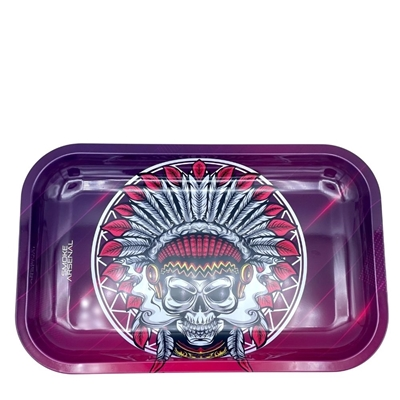 Picture of Medium Metal Rolling Tray - Up In Smoke