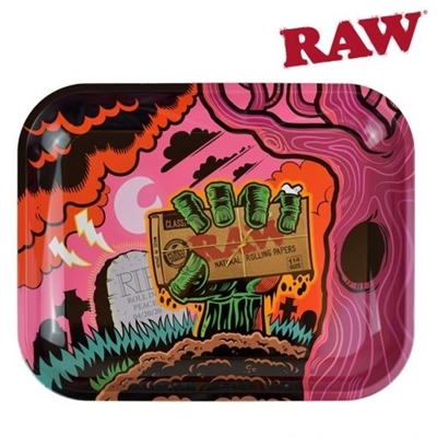 Picture of LARGE ROLLING TRAY  -RAW ZOMBIE